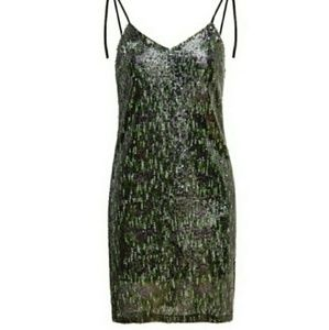 Gorgeous Sequin Cocktail Dress NWT